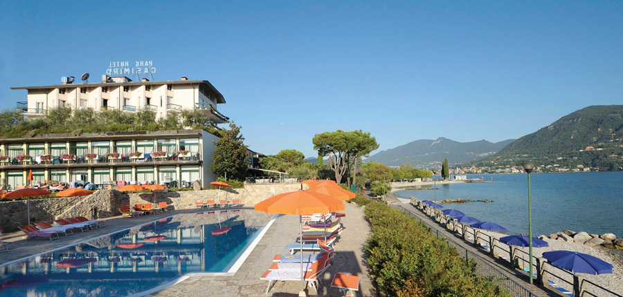 Casimiro Village Park Hotel, Gulf of Salo, Italy - hotel exterior with lake.jpg